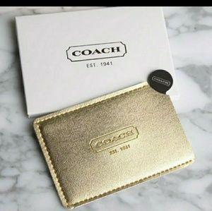 Coach Pocket Mirror BRAND NEW IN BOX
